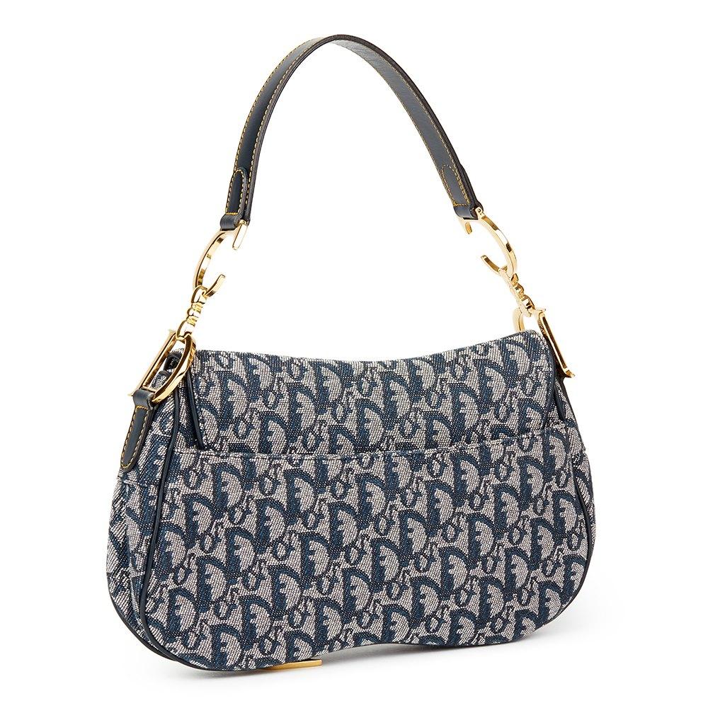 51e33325a Christian Dior Saddle Bag 2004 HB1771 | Second Hand Handbags | Xupes