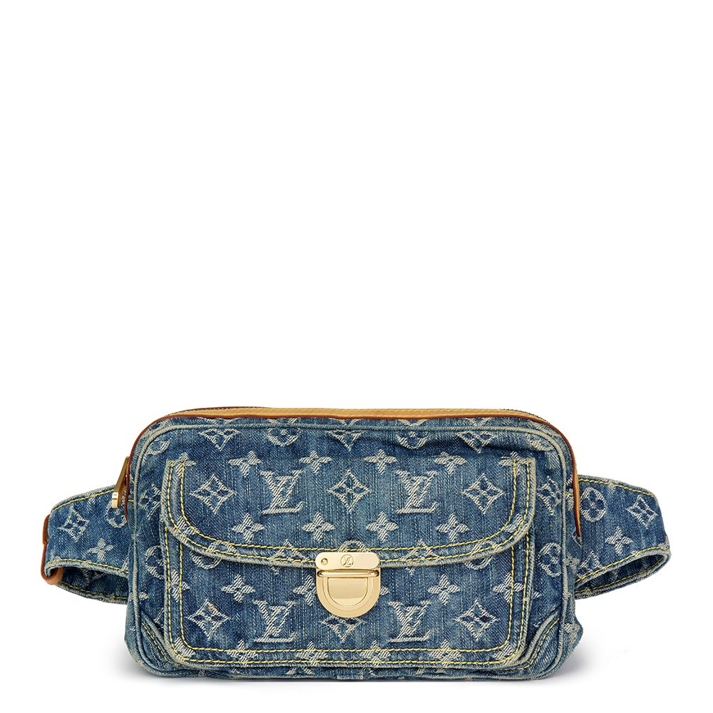 ef93060497d Blue Monogram Denim Bum Bag