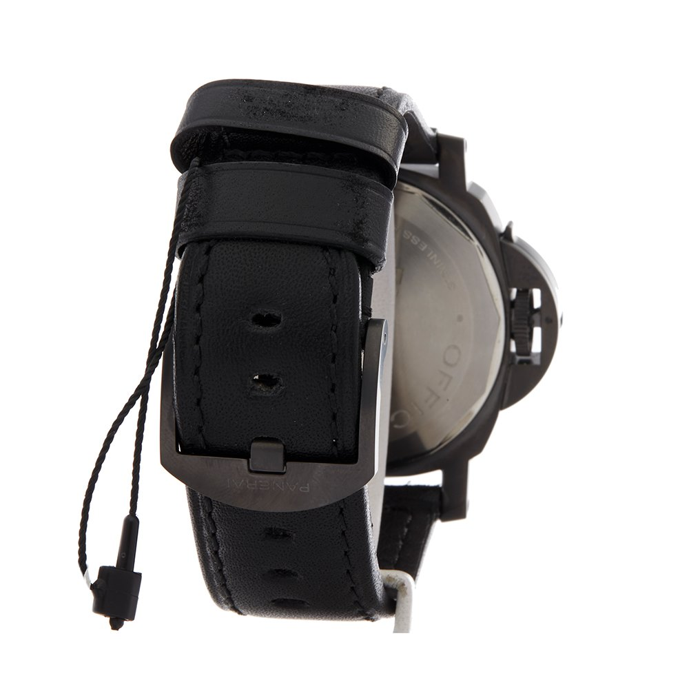 Panerai Luminor Left Handed Dlc Coated Stainless Steel PAM00026