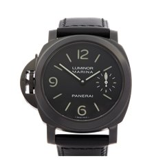 Panerai Luminor Left Handed Dlc Coated Stainless Steel - PAM00026