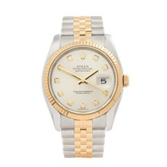 Rolex Datejust 36 Stainless Steel & 18K Yellow Gold - 116233