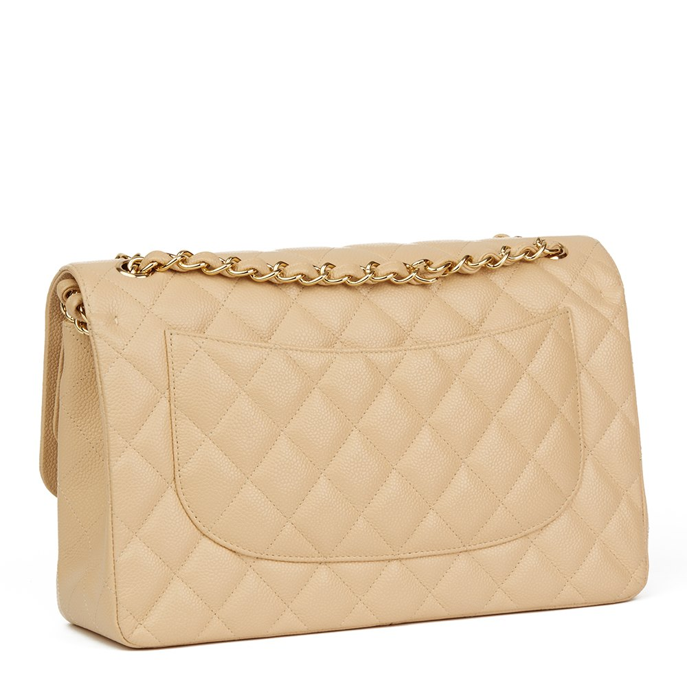 0d95b59e8fba Chanel Jumbo Classic Double Flap Bag 2012 HB1784 | Second Hand Handbags