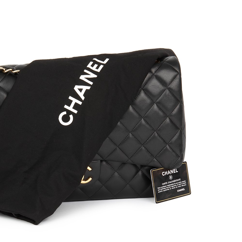 86e55030ab32 Chanel Maxi Classic Double Flap Bag 2012 HB1785 | Second Hand Handbags