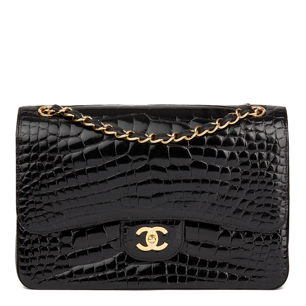 02d4f5b9588a Chanel Jumbo Classic Double Flap Bag 2011 CB131 | Second Hand Handbags