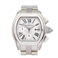 Cartier Roadster XL Chronograph Stainless Steel - W62019X6