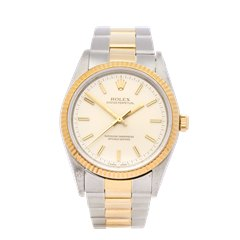 Rolex Oyster Perpetual 34 Stainless Steel & 18K Yellow Gold - 14233