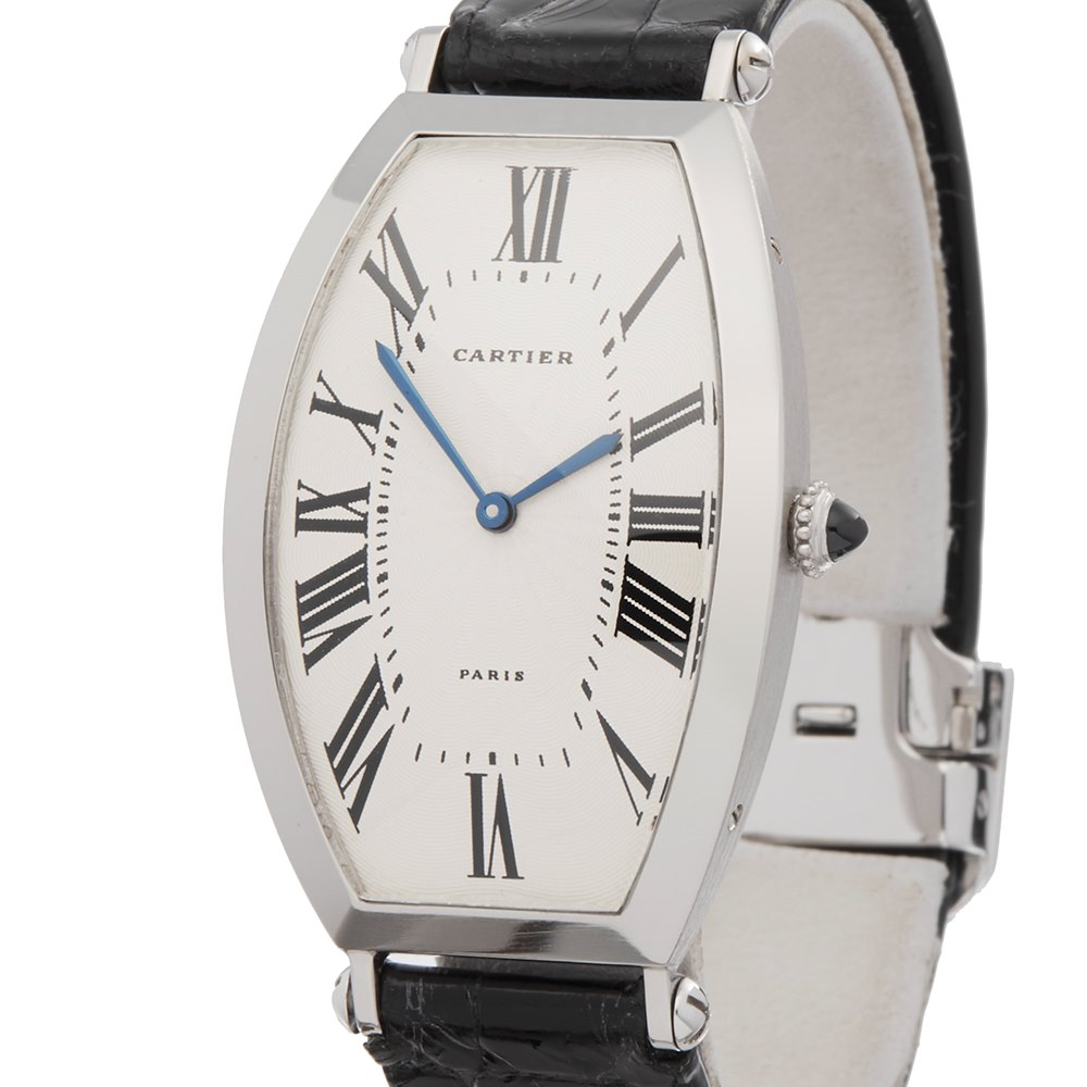 Cartier Tonneau Xl Platinum W3000851 or 1098