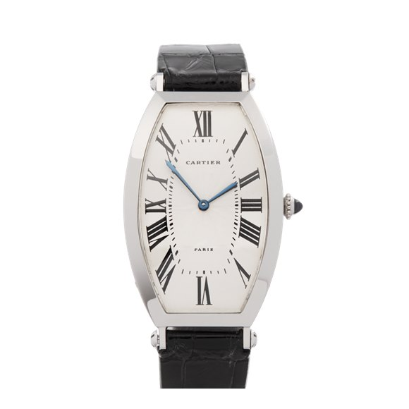 Cartier Tonneau Xl Platinum - W3000851 or 1098