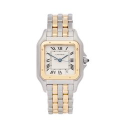 Cartier Panthère Stainless Steel & 18K Yellow Gold - W25028B6