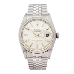 Rolex Datejust 36 Stainless Steel & 18K White Gold - 16014