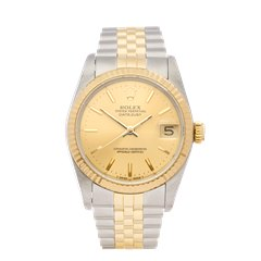 Rolex DateJust 31 18k Stainless Steel & Yellow Gold - 68273