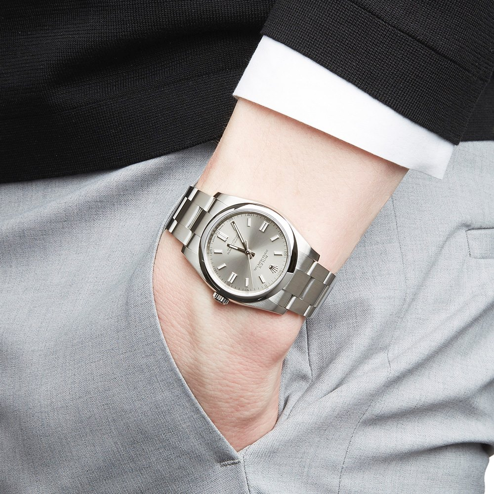 Oyster Perpetual 36 Stainless Steel 116000