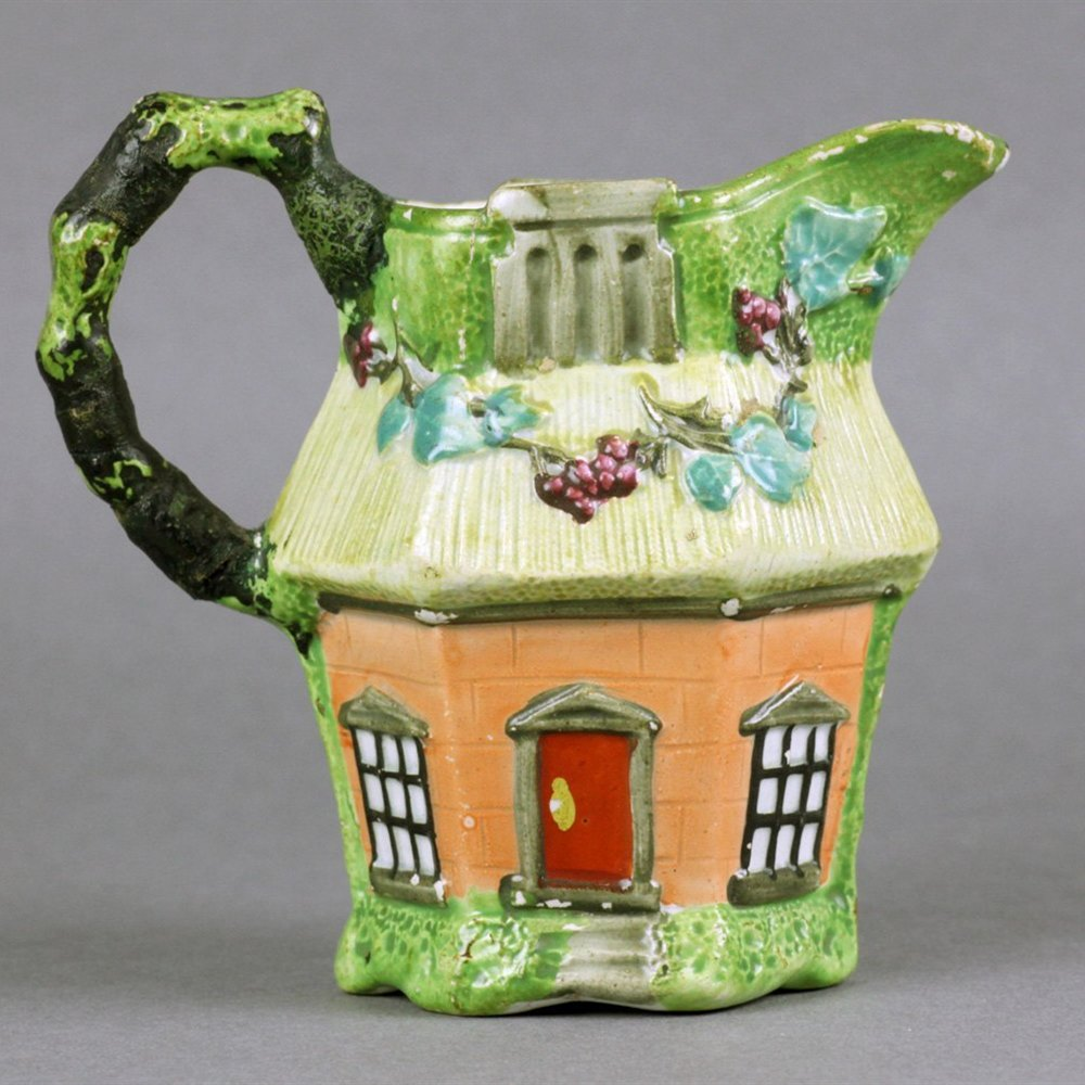 STAFFORDSHIRE COTTAGE JUG Circa 1800