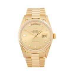 Rolex Day-Date 36 18K Yellow Gold - 18038