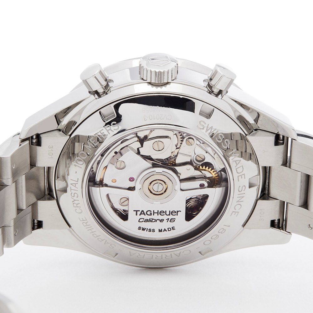 Tag Heuer Carrera Chronograph Stainless Steel CV2010-3