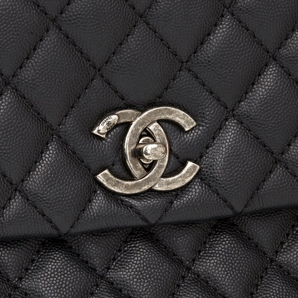 b8dc289a4a3f Chanel Medium Coco Handle 2017 HB1818 | Second Hand Handbags | Xupes