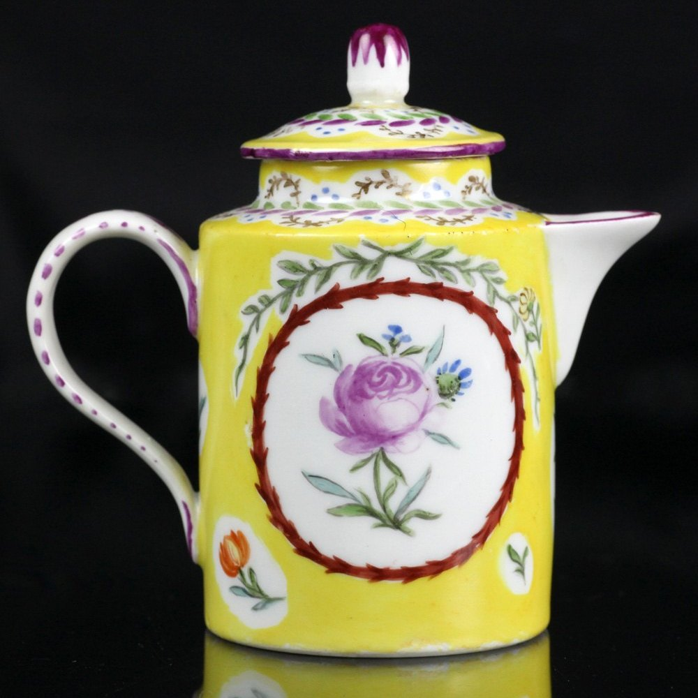 MEISSEN MINIATURE TEAPOT 19th Century