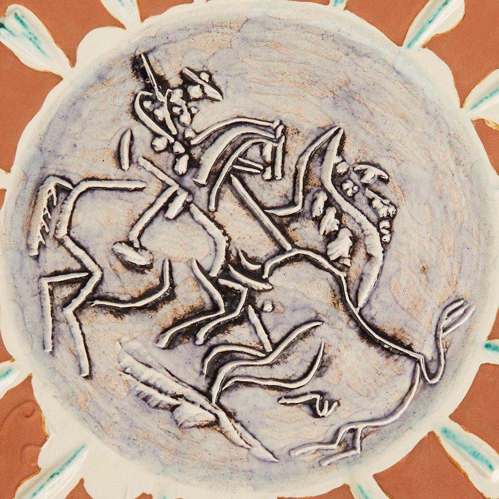 PABLO PICASSO DISH, SCÈNE DE TAUROMACHIE, 1959 (A.R.410) 1959