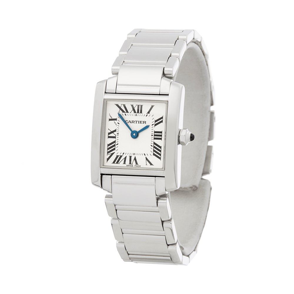 Cartier Tank Francaise White Gold W50012S3 or 2403