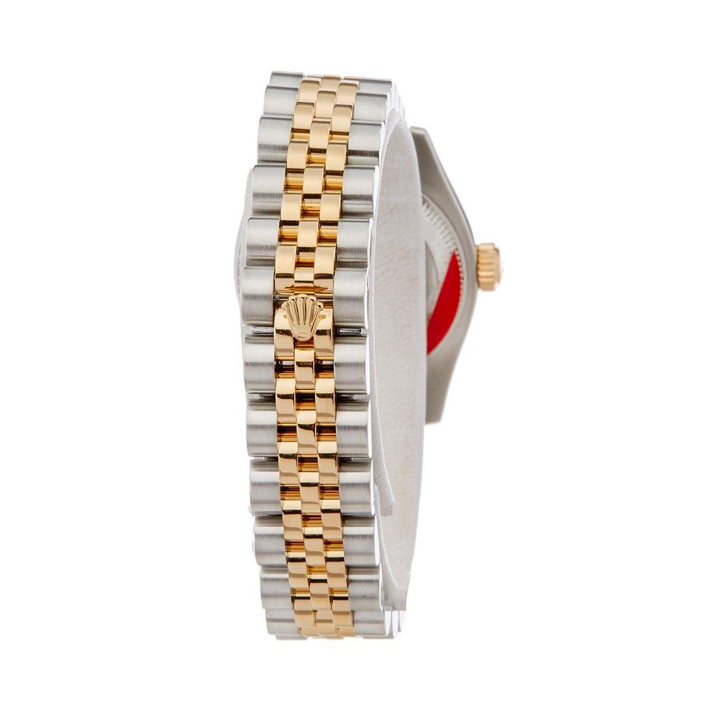 Rolex DateJust 26 Diamond Stainless Steel & Yellow Gold 179173
