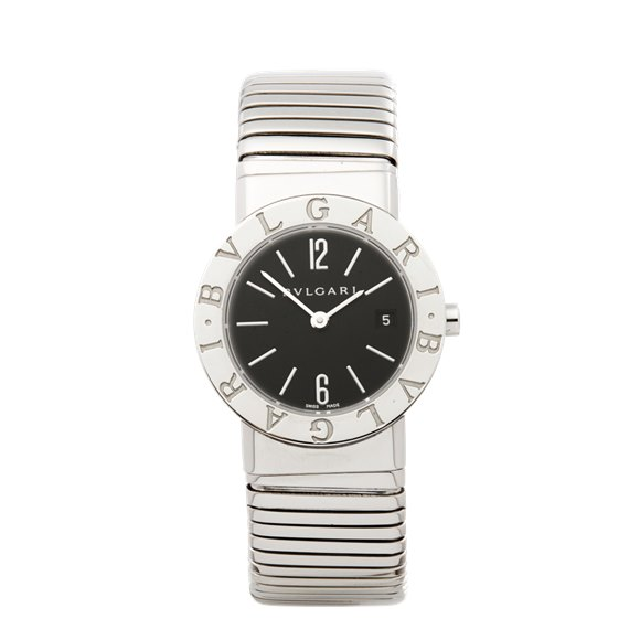 Bulgari Tubogas Stainless Steel - BB 26 2TS