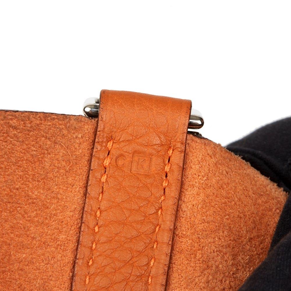 Hermès 2007 Hermes H Cuir Clemence Orange Picotin 22 Trouver Une Grande Jeu Footlocker Vente De La France Acheter Pas Cher Authentique SR52QVqgl2