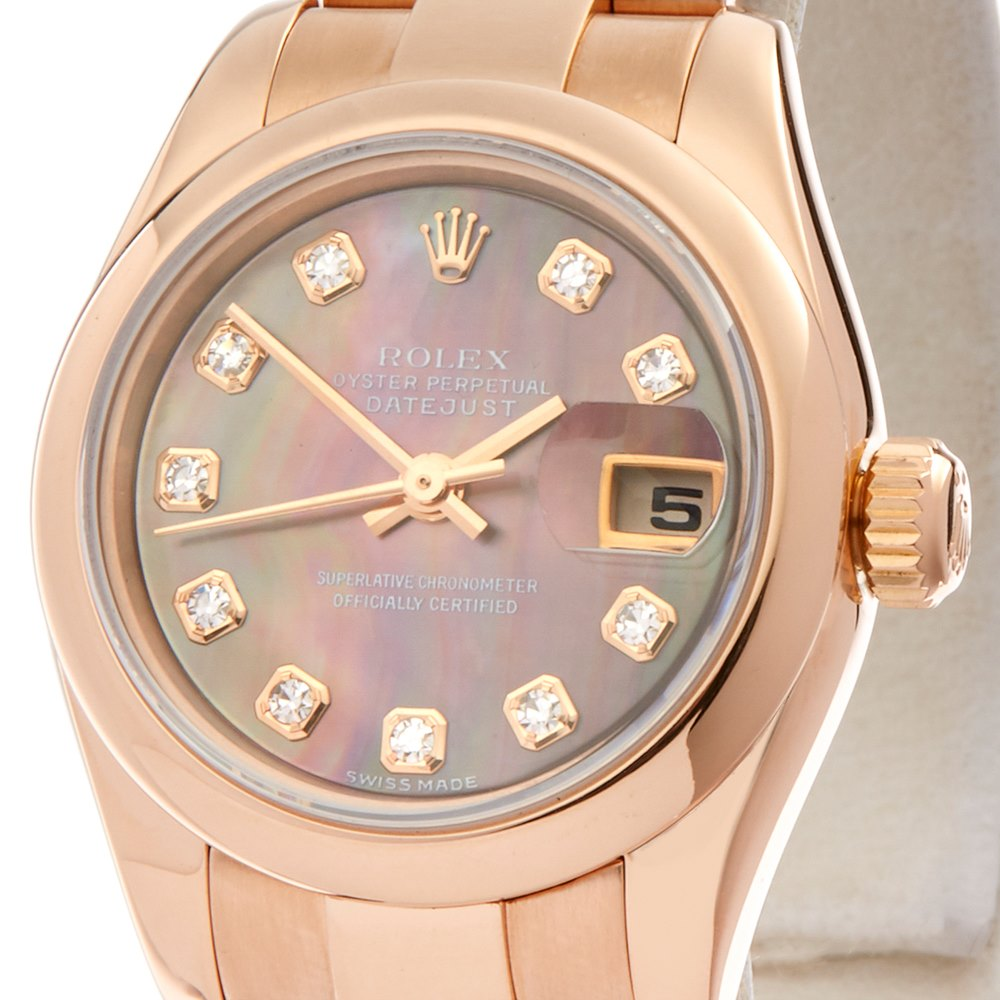Rolex Datejust 26 18K Rose Gold 179165
