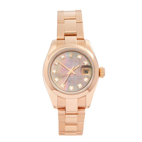 Rolex Datejust 26 18K Rose Gold - 179165