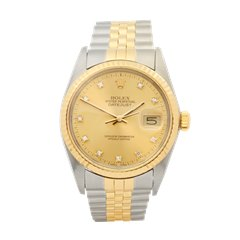 Rolex Datejust 36 Stainless Steel & 18K Yellow Gold - 16013G