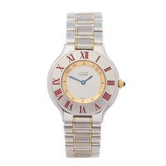 Cartier Must de 21 Stainless Steel & 18K Yellow Gold - W1007819