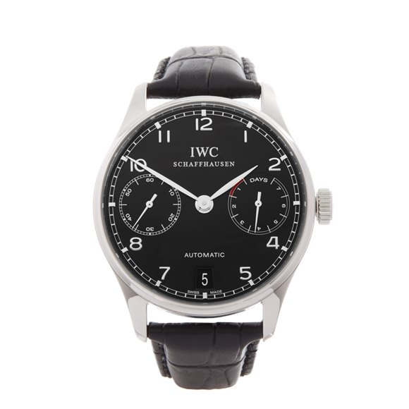 IWC Portuguese Stainless Steel - IW500109