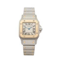 Cartier Galbee Stainless Steel & 18K Yellow Gold - W20012C4