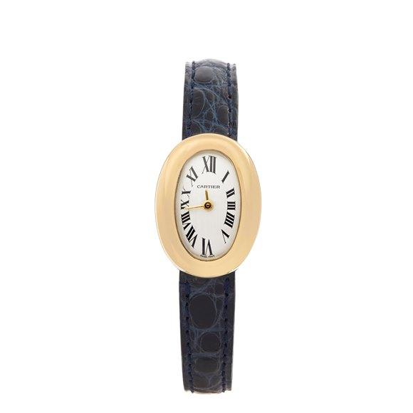 Cartier Baignoire Mini 18k Yellow Gold - W1536699