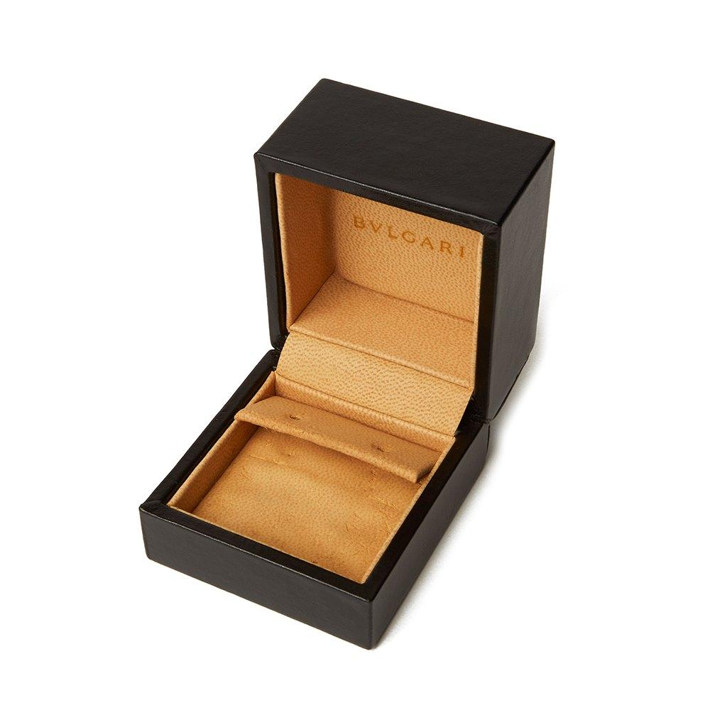 Bulgari 18k White Gold Diamond Lucéa Stud Earrings