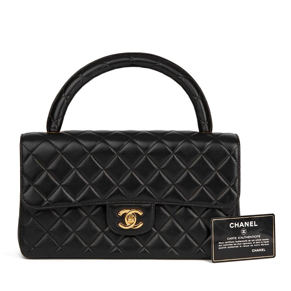 c14aee2ad053 Chanel Medium Classic Kelly Flap Bag 1996 HB1839 | Second Hand Handbags