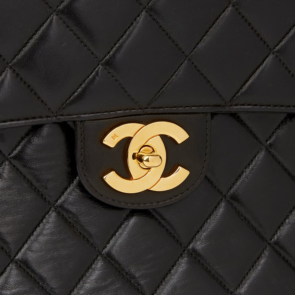 1f16a066557a Chanel Jumbo Classic Single Flap Bag 1997 HB1856 | Second Hand Handbags