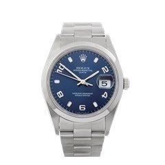 Rolex Datejust 34 Stainless Steel - 15200