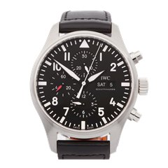 IWC Pilot's Chronograph Stainless Steel - IW377709