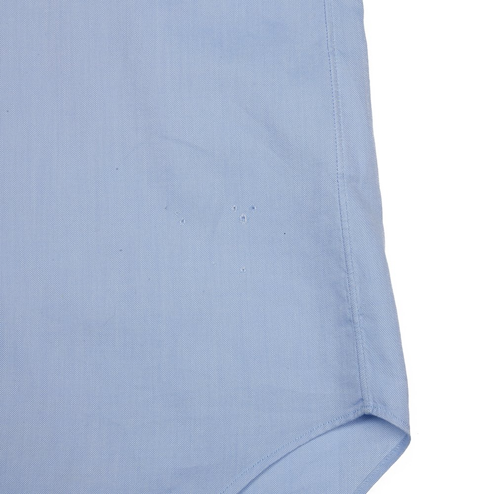 Comme Des Garçons Blue & Pink Cotton Block Colour Short Sleeve Shirt Donated By Sam Mcknight