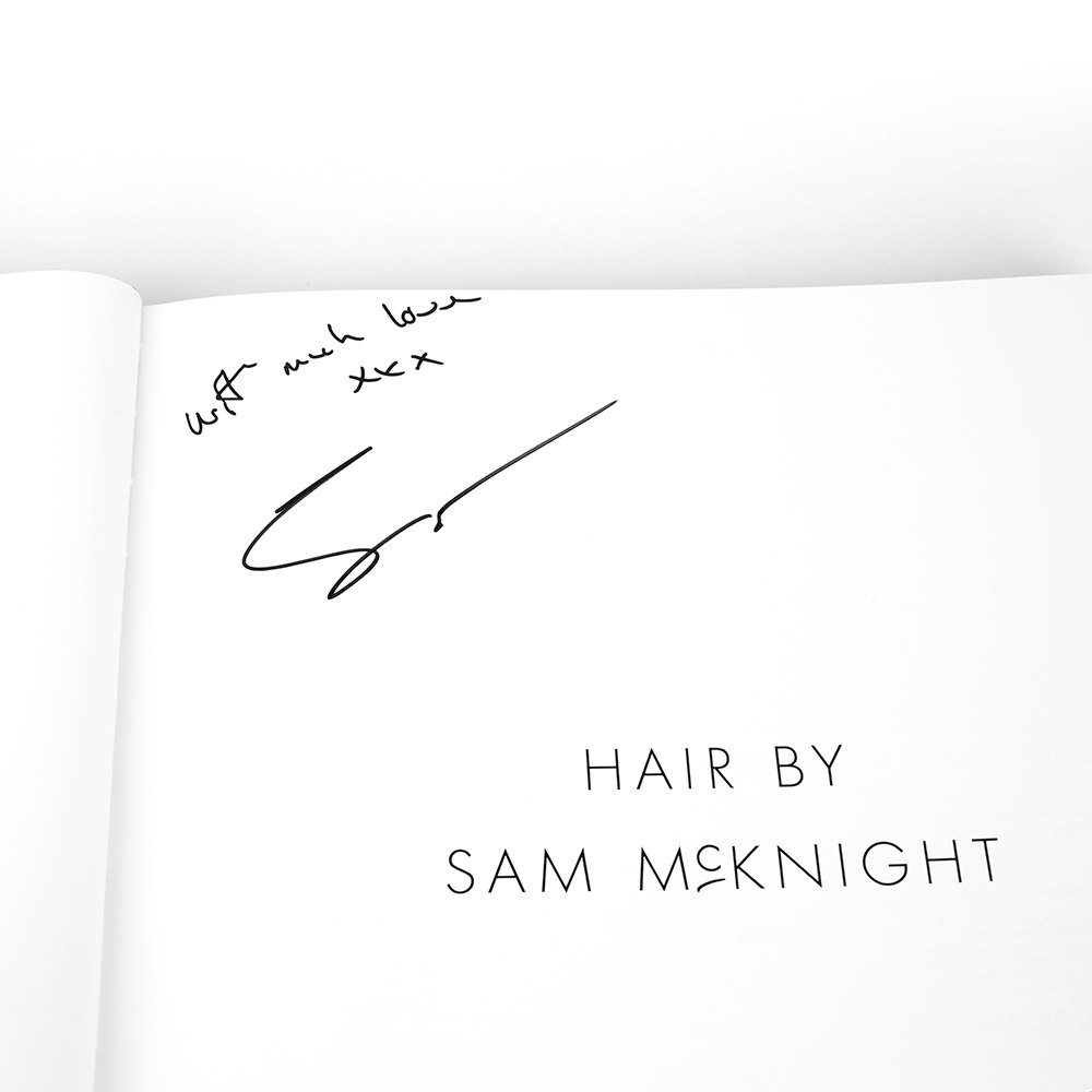 Sam Mcknight Hair By Sam McKnight Signed Book & Selection of Styling Products Donated By Sam Mcknight