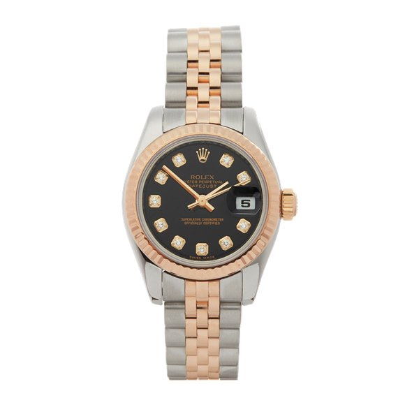 Rolex Datejust 26 Stainless Steel & 18K Rose Gold - 197171