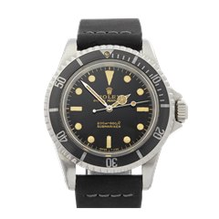 Rolex Submariner Gilt Gloss Meters First 5 Ticks Dial Stainless Steel - 5513
