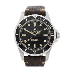 Rolex Submariner Gilt Gloss Meters First Pointed crown guards Stainless Steel - 5512