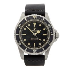 Rolex Submariner Gilt Gloss Meters First Dial Pointed Crown Guards Stainless Steel - 5512