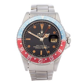 Rolex GMT-Master Pepsi Gilt Dial Stainless Steel - 1675
