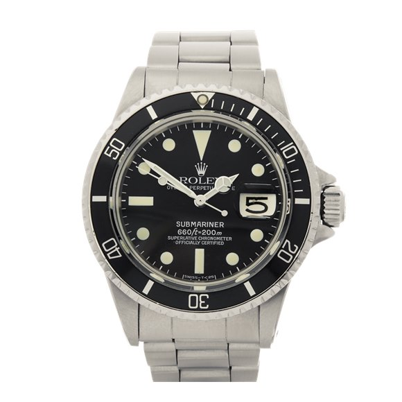 Rolex Submariner Date Stainless Steel - 1680