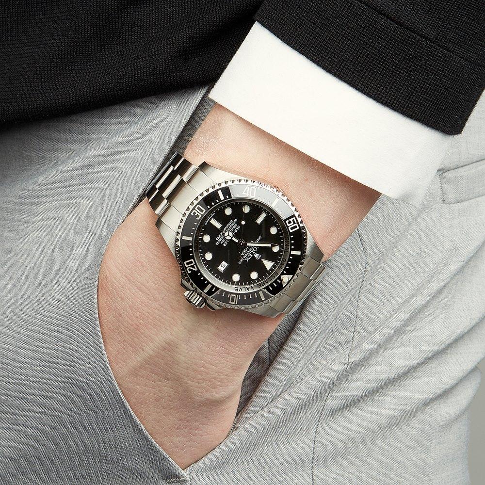 29c60469a61 Pre-owned Rolex Watch Sea-Dweller Deepsea 116660