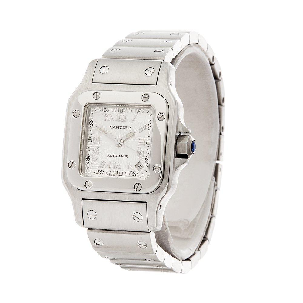Cartier Santos Galbee Stainless Steel W20044D6 or 2423