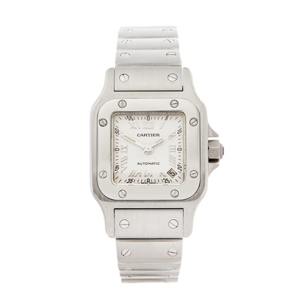 Cartier Santos Galbee Stainless Steel - W20044D6 or 2423