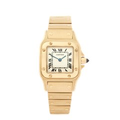 Cartier Santos Galbee 18K Yellow Gold - 6693